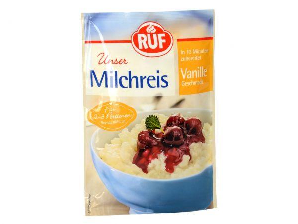 RUF Milchreis Vanille 125g