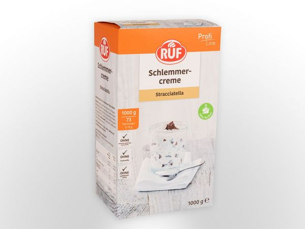 RUF Schlemmercreme Stracciatella 1,0kg