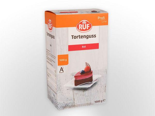 RUF Tortenguss rot 1,0kg
