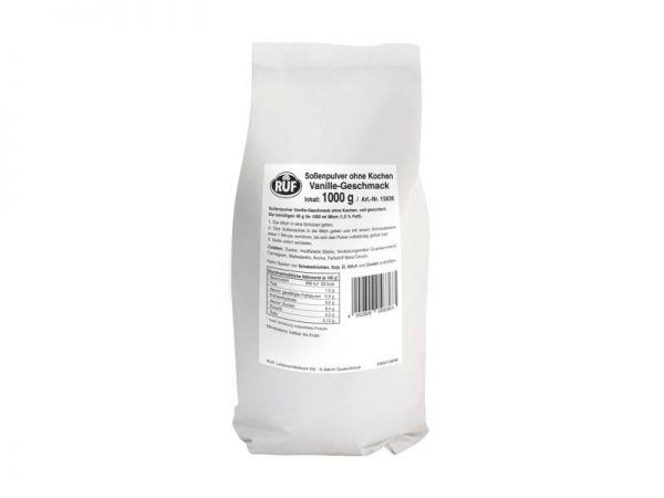 RUF Soßenpulver Vanille ohne Kochen 1,0kg Beutel
