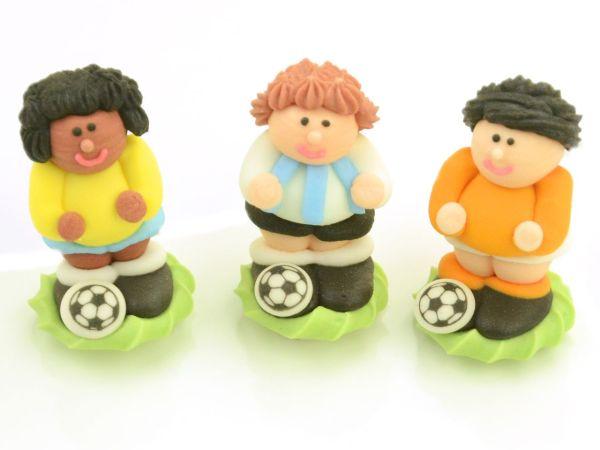 Fußballer Zucker 4 Stück