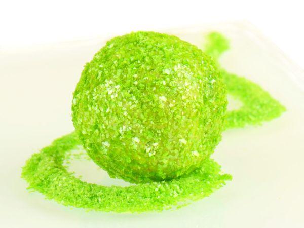 Glitzerpulver essbar apple green - apfelgrün 5g