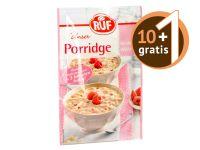 RUF Porridge Himbeer-White Choc 65g 10+1 gratis