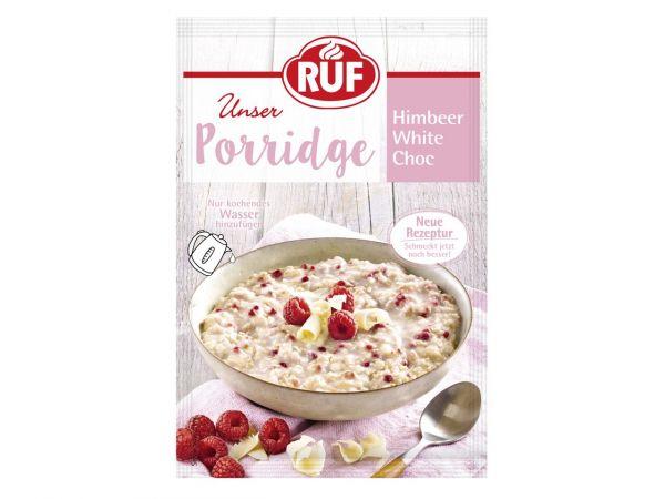 RUF Porridge Himbeer-White Choc 65g