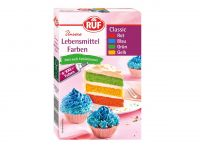 RUF Classic Food Colours 4er Pack 4x20g