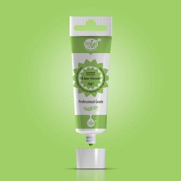 Lebensmittelfarbe ProGel Lime Green 25g