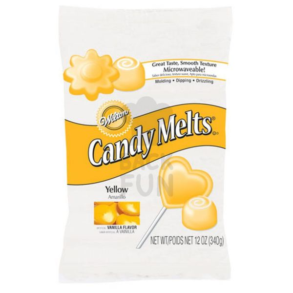 Wilton Candy Melts Yellow 340g