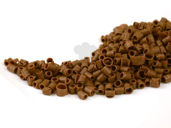 Schokoladen-Curls Vollmilch 50g