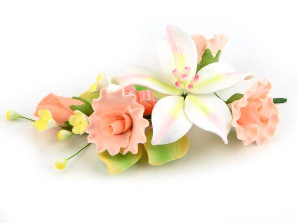 Feinzucker Bouquet Curly Rose Freesia