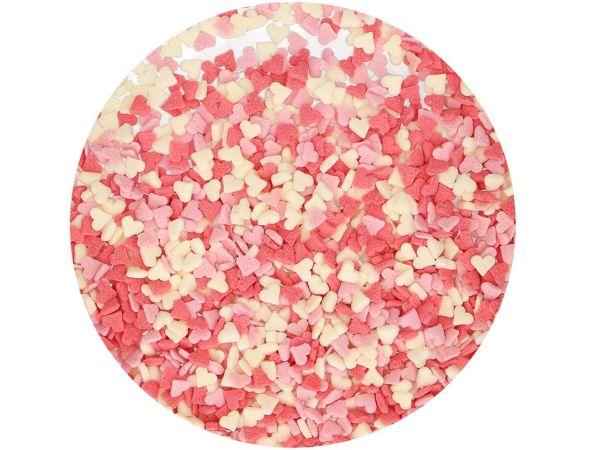 FunCakes Miniherzen Rosa-Weiß-Rot 60g