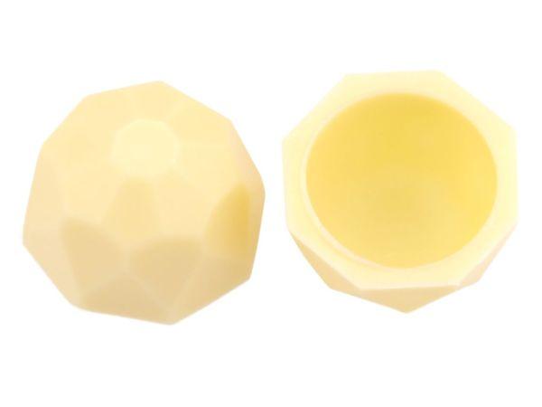 1 Folie Diamanten-Schalen Weiß