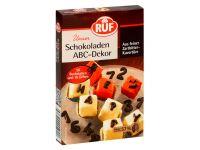 RUF Schokoladen ABC-Dekor