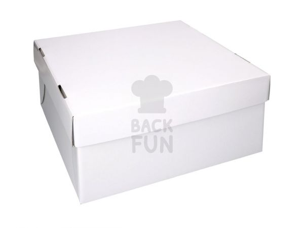 Tortenkarton weiß 31cm 5er Set