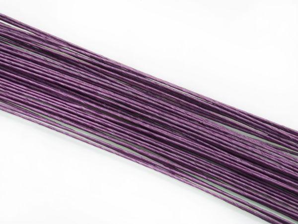 Blumendraht violett 20G 50 Stück