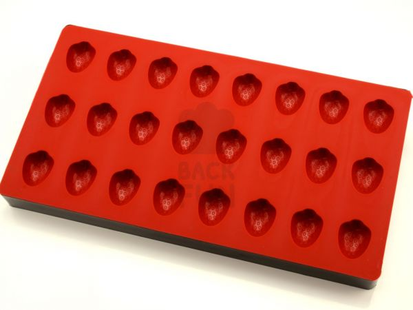 Bonbon-Form Erdbeere