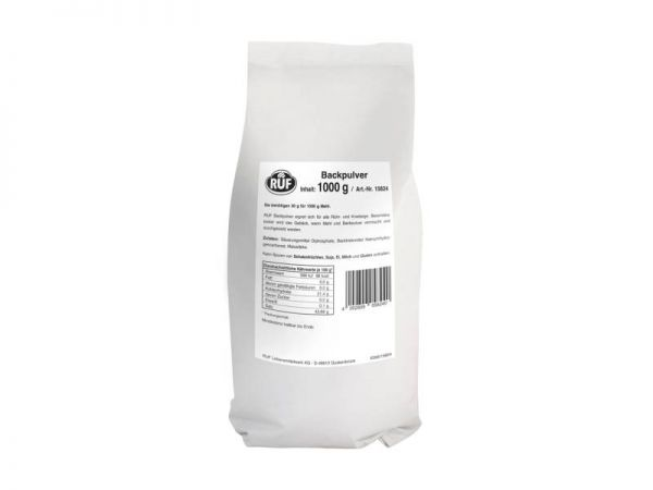 RUF Backpulver 1,0kg Beutel