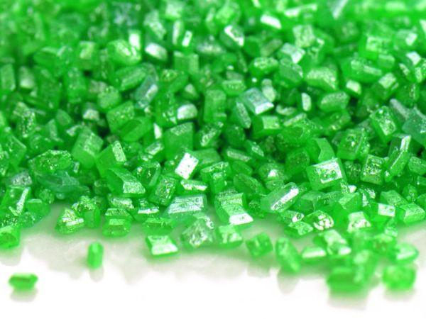 Glimmer Zucker grün 100g