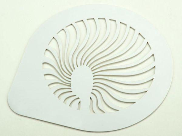 Schablone Fächer 15cm