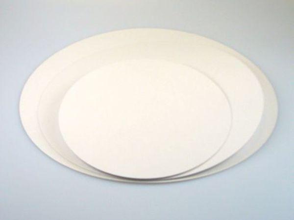 FunCakes Beschichtete Cake Cards, Rund 20cm, 5er Set