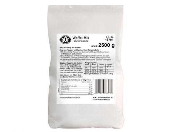 RUF Waffel-Mix Grundmischung 2,5kg