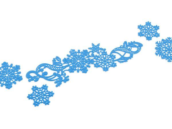 Spitzendekor-Matte Snowflakes