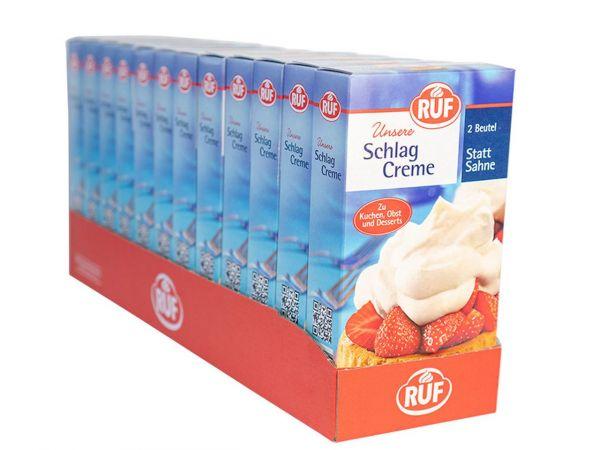 12x RUF Schlagcreme 2er Pack 2x40g