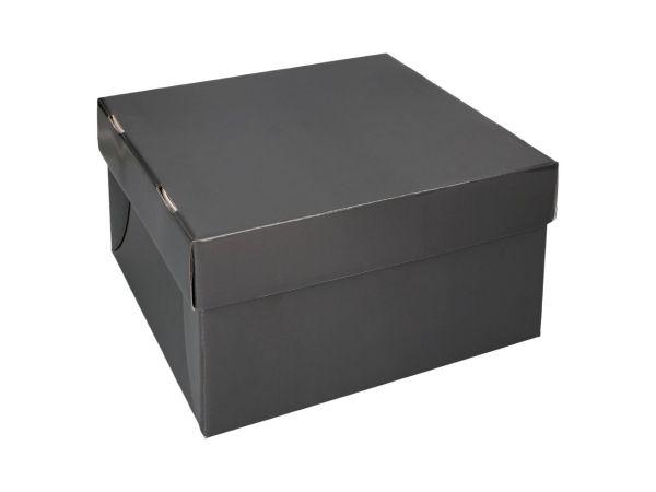 Tortenkarton graphit 26cm 3er Set