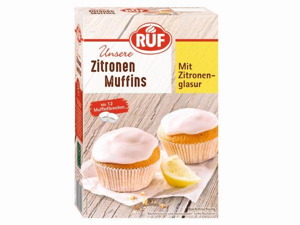 RUF Muffins Zitrone 410g