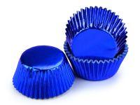 Muffinkapseln 50mm Alu blau 60 Stück
