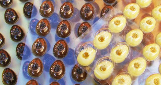 Hohlkörper Eier