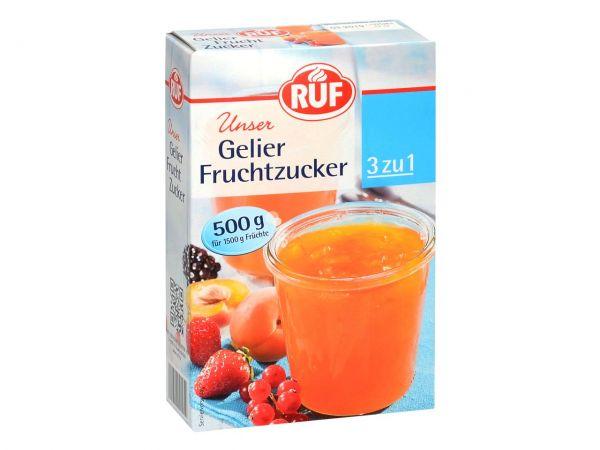 RUF Gelier Fruchtzucker 500g