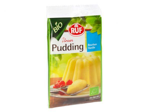 RUF Pudding Bio Vanille 2er Pack 2x40g