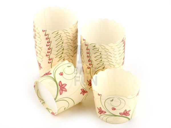 Cupcake Cup Blumen 20 Stück