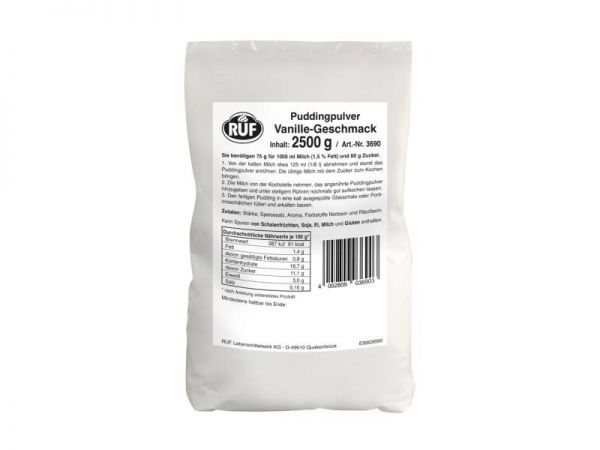 RUF PP Vanille 2,5kg Beutel