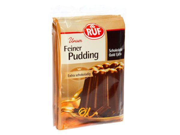 RUF Pudding Schokolade Gold 3er Pack 3x46g