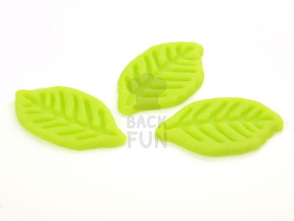 Marzipan-Blätter 7 Stück klein