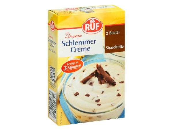 RUF Schlemmercreme Stracciatella 2er Pack 2x66g