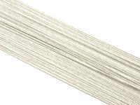 Blumendraht weiß 24G 100 Stück
