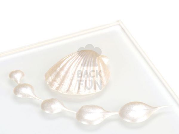 Metallic-Lebensmittelfarbe Perlmutt White 25ml