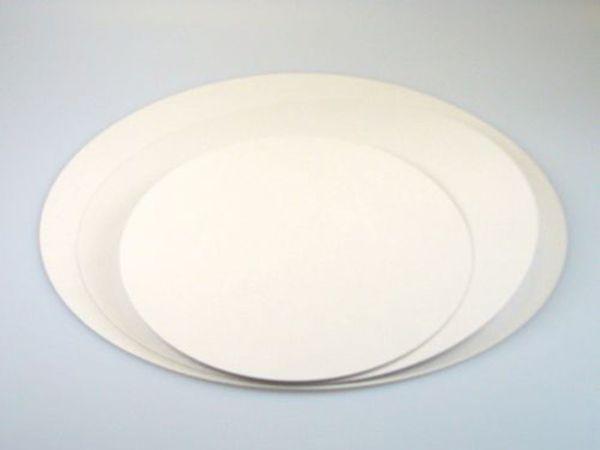 FunCakes Beschichtete Cake Cards, Rund 24cm, 5er Set