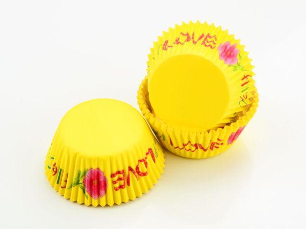 Muffinkapseln 50mm Love 60 Stück