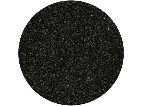 FunCakes Gefärbter Zucker Schwarz 80g