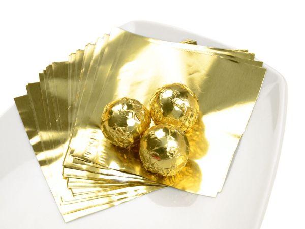 Wickelfolie gold 50 Blatt