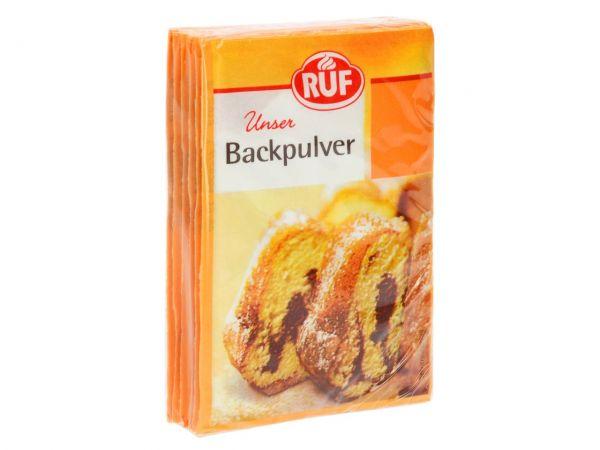 RUF Backpulver 6er Pack 6x15g