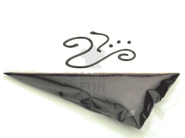 Garnierschrift schwarz 70g