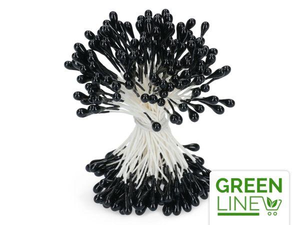 Staubblüten schwarz 120 Stück GREENLINE