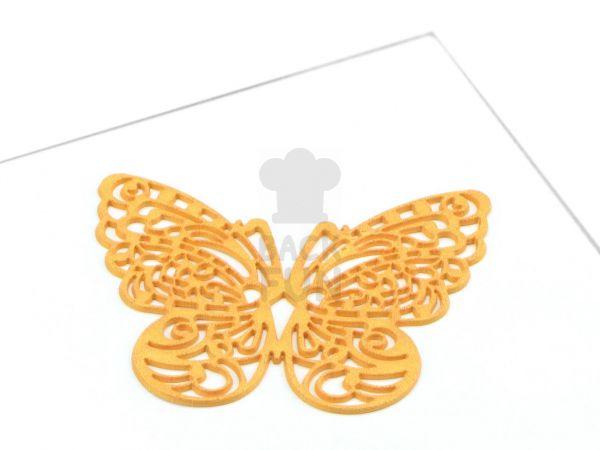 Spitzendekor Butterfly gold
