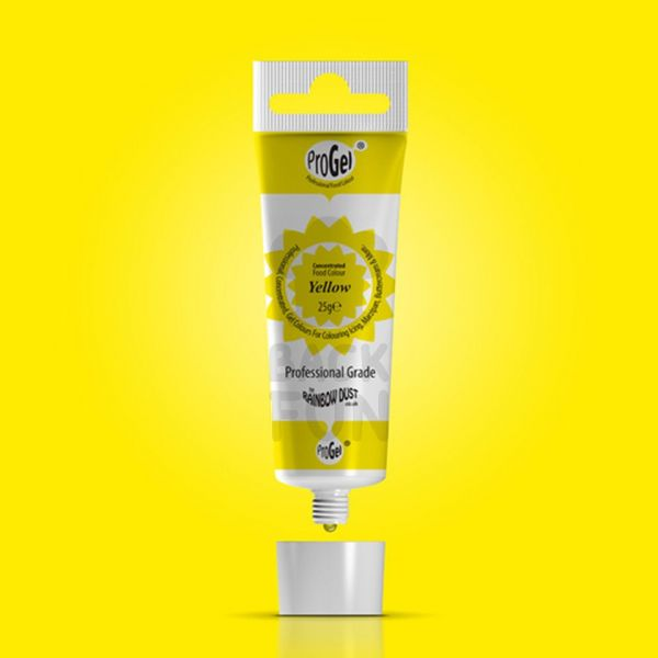 Lebensmittelfarbe ProGel Yellow 25g