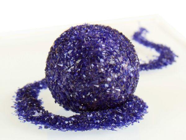 Glitzerpulver essbar purple - violett 5g