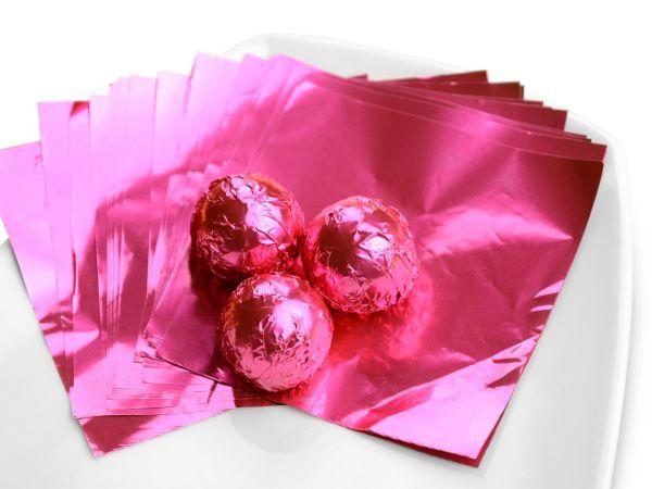 Wickelfolie pink 50 Blatt